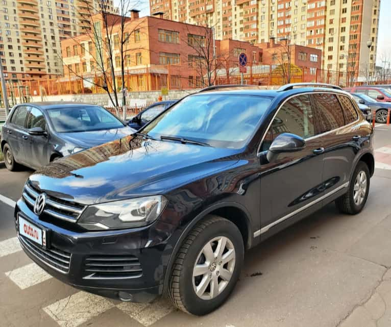 Деньги под залог Volkswagen Touareg
