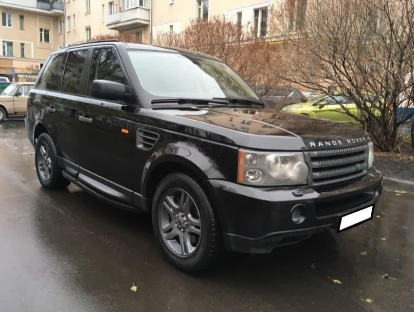 Деньги под залог Range Rover Sport